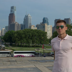 Vitaliy Hayda, Rocky stairs, Philadelphia, PA