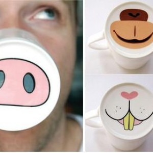 Funny coffee cups