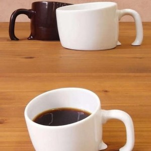 Sunken coffee cups